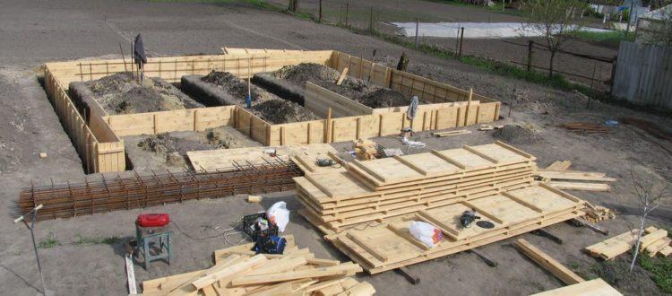 Процесс строительства - Двухэтажный дом 120 м2